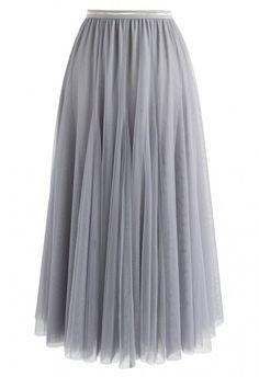 Chiffon Navy Blue Pleated Maxi Skirt - Retro, Indie and Unique Fashion Chiffon Maxi, Pleated Midi Skirt, Mesh Skirt, Knit Skirt, Unique Fashion, Retro Mode, Floral Print Maxi Dress, Retro Dress, Ideias Fashion
