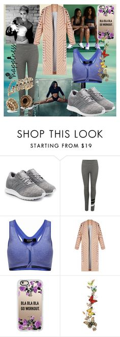 """""""Royal workout."""" by julianamourning ❤ liked on Polyvore featuring Cyrus, adidas Originals, Sundry, BCBGMAXAZRIA, Dolce&Gabbana, Casetify and Benzara"""