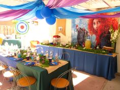 Brave Merida Birthday Party