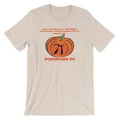 c4348dc3 Funny Pi Day Tee Shirt, Math Science Pumpkin Pi Joke shirt for teachers and  nerdy gifts 3.14