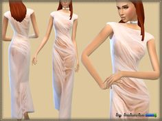 Sims 4 CC's - The Best: Dress Aphrodite by Bukovka
