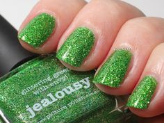 piCture pOlish Jealousy swatched by Maria's Nail Polish Blog!