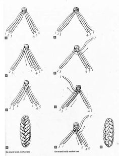 Six stranded braided-how to