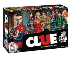Clue: The Big Bang Theory Collector's Edition Board Game - I'm thinking the victim is ALWAYS Sheldon and it always looks like an accident