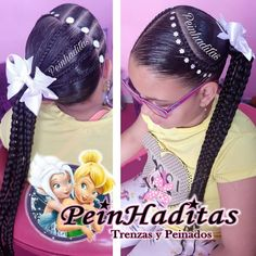 La imagen puede contener: 1 persona Beautiful Children, Girl Hairstyles, Diana, Hair Styles, Instagram Posts, Kids, Fashion, Braids Long Hair, Hairstyles For Natural Hair