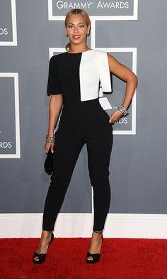 Beyoncé In Osman Yousefzada At The Grammys, 2013