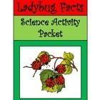 Ladybug Facts Activity Packet:  This colorful science activity packet explores one of the most beloved insects on Earth, the Ladybug or Ladybird Bee...