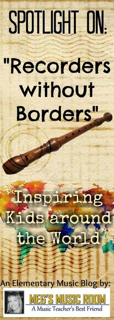 Spotlight on Recorders without Borders - Inspiring Kids Around the World - Global Music - Charity for Kids - Africa, Central America, South America Music Lessons For Kids, Music For Kids, Piano Lessons, Preschool Music, Teaching Music, Recorder Fingering Chart, Central America, South America, Music Education Activities