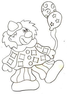 Coloriage - Clown 1