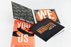 Ww, You & Us self-promotional booklet by Imaginaria Creative