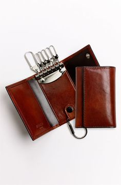 Men's Bosca 'Old Leather' Key Case - Brown
