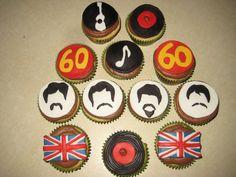 JessiCakes: The Beatles Cupcakes