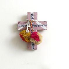 Pink Sengo Pom Pom Mini Cross