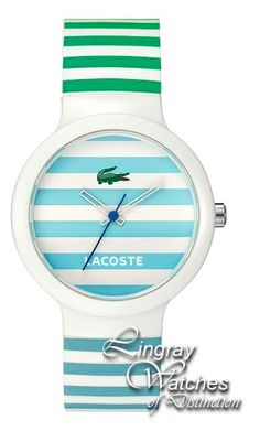 Lacoste - Unisex Multi Coloured Goa Watch - 2010565 RRP  £60.00 Online  price  £49.00 You Save  £11.00 (18%) www.lingraywatches.co.uk 51cade9f53