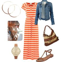 A fashion look from September 2013 featuring Linea Weekend dresses, Fat Face jackets and Tory Burch sandals. Browse and shop related looks.