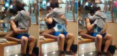 Casal faz sexo no meio de shopping e choca clientes