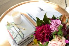 Beautiful coffee table details