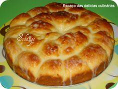 Espaço das delícias culinárias: Rosca de colher com leite condensado e leite de co...