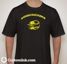 New softball shirts this year made on CustomInk.com