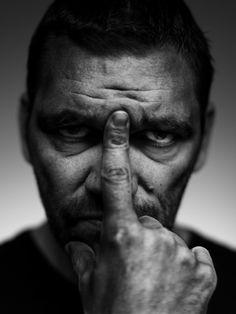 Theo Maassen (1966) - Dutch comedian and actor. Photo by Stephan Vanfleteren