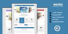 Review Vento - Single Page Portfolio PSD LayoutThis site is will advise you where to buy