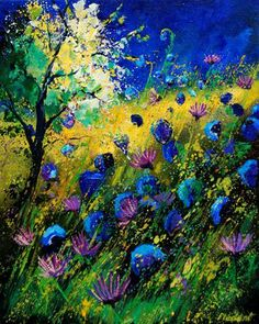 Summer by Pol Ledent .... His colors are beautiful.