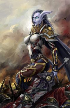 ArtStation - Draenei Warrior Art - World of Warcraft, Anastasiya Darenskaya