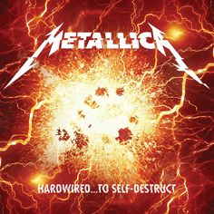 Reworked art for Metallica's Hardwired...to Self-Destruct  Rights to Metallica