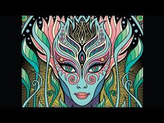 Lost Lumina 3 Timelapse Coloring Book Speed Art By Cristina McAllister