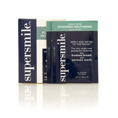 Supersmile Powdered Mouthrinse, $16.00 @birchbox.com Awesome need to get some of those.