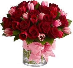 Ron & Alicia Robinson Florist offers beautiful Valentine's Day Flowers available for nationwide and local Rowland Heights flower delivery! Order Valentine's Day flowers online or call today to place a special order for your sweetheart. Valentine Bouquet, Valentines Flowers, Bouquet St Valentin, Rosen Box, Flower Meanings, Order Flowers Online, Same Day Flower Delivery, Photocollage, Pink Tulips