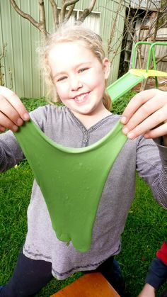DIY GREEN ALIEN SLIME
