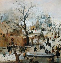 Hendrick Avercamp  b. Jan. 25, 1585
