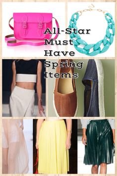 FASHION ALERT: 10 ALL-STAR MUST HAVE ITEMS FOR SPRING on http://www.trufashionfinder4u.com/#!fashion-finder-/ciau/fashion-alert--10-all-star-must-have-items-for-spring