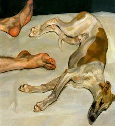 """""""Eli"""", 2002, Lucian Freud."""