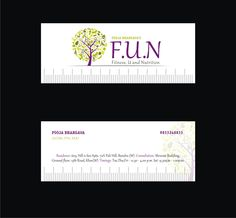 Logo design for F.U.N by Pooja Bhargava