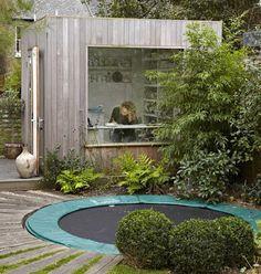 Shedworking: Ceramic garden office