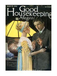 Old Magazine Covers - 1910s Vintage Magazine Art - Good Housekeeping#slide-1#slide-1