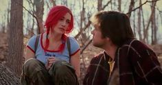 Kate Winslet all the time, but especially Kate Winslet as Clementine in 'Eternal Sunshine of the Spotless Mind'