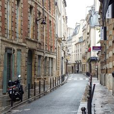 The beautiful winding streets of the Latin Quarter. Paris photography by Christine Lueddecke