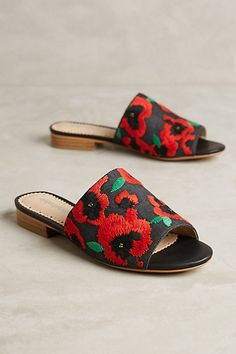 Farylrobin Antigone Slides #anthropologie