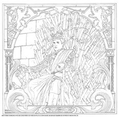 The Most Hated Character Returns In Game Of Thrones Coloring Book