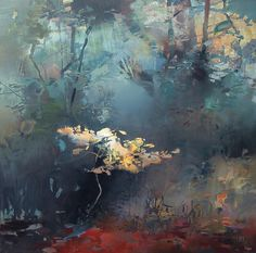 RANDALL DAVID TIPTON Northwest November oil on panel 20x20