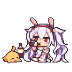Tagged with pixel art, emotes, azur lane, azurlane, blhx; Anime Pixel Art, Anime Art, Android Gif, Pixel Art Background, Pixel Animation, Random Gif, Kawaii Drawings, Funny Cartoons, Kawaii Anime
