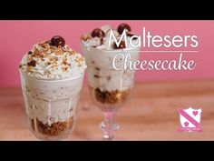 Malteser Cheesecake - In The Kitchen With Kate - YouTube