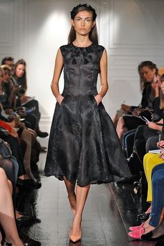 """Emilia Wickstead is a new addition to the #SwarovskiCollective for #LFW     """"The Swarovski Collective is the expression of elegant luxury. It adds an attractive combination of glamour and vitality that truly makes the eye pop. Diana Vreeland would have called it """"pizzazz"""" - and it is thoroughly befitting a collection inspired by this charismatic fashion editor of the Thirties."""" Emilia Wickstead"""
