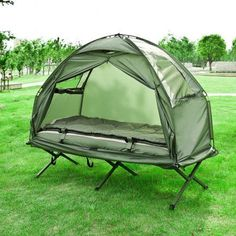 Haotian Compact Collapsable Portable C&ing Cot Air MattressPop-Up TentTent & Best Camping Tents | Quik Shade Weekender Elite WE144 12x12 ...