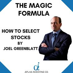 """Stock selection is a very important thing for investing in the stock market.  Many people have made their fortune from the stock market, all of them have a different philosophy. Each one of them have their own framework within which they work. Similarly the Magic Formula Investing was created by Joel Greenblatt, hedge fund manager and author of the book """"The Little Book that Beats the Market"""". In this book he has mentioned this magic formula.  We have presented this formula in 9 simple… Hedge Fund Manager, Little Books, Stock Market, Instagram Feed, Beats, Philosophy, The Book, Investing, The Selection"""