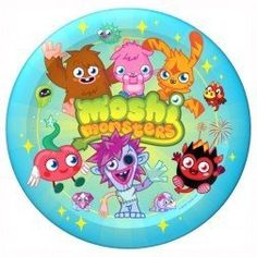 Moshi Monster Party plates. #bttMoshiMonster