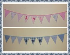 Sister and Brother! #bunting